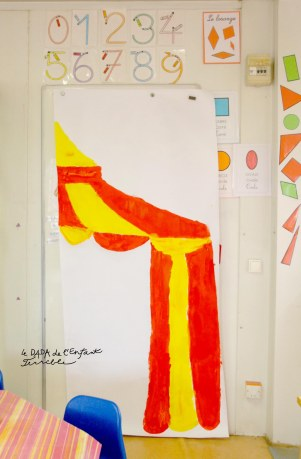 25 chapiteau peinture école