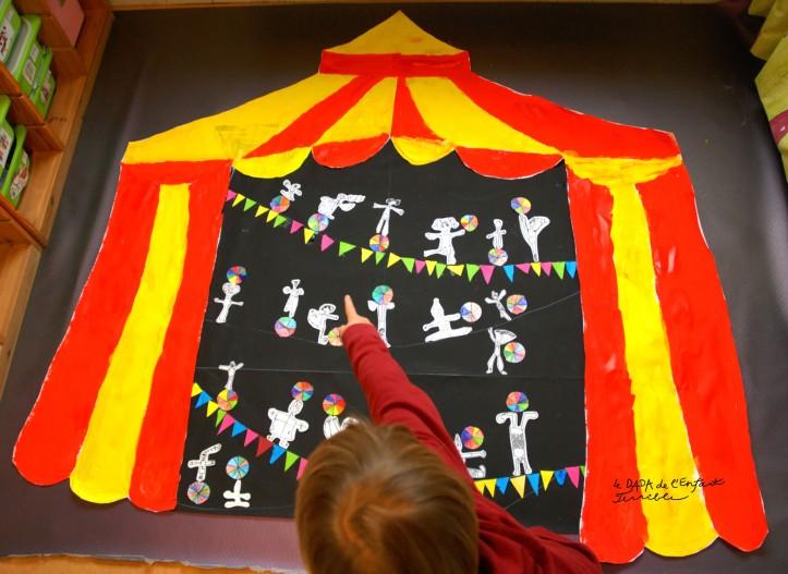 27 projet arts plastique cirque