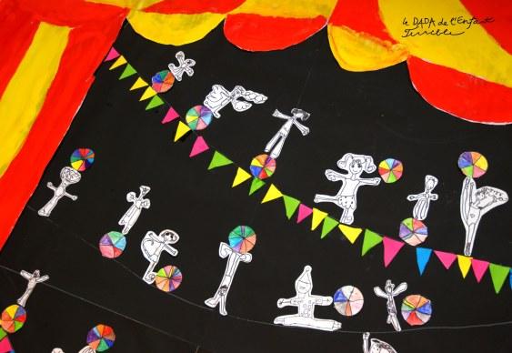 33 cirque projet école maternelle
