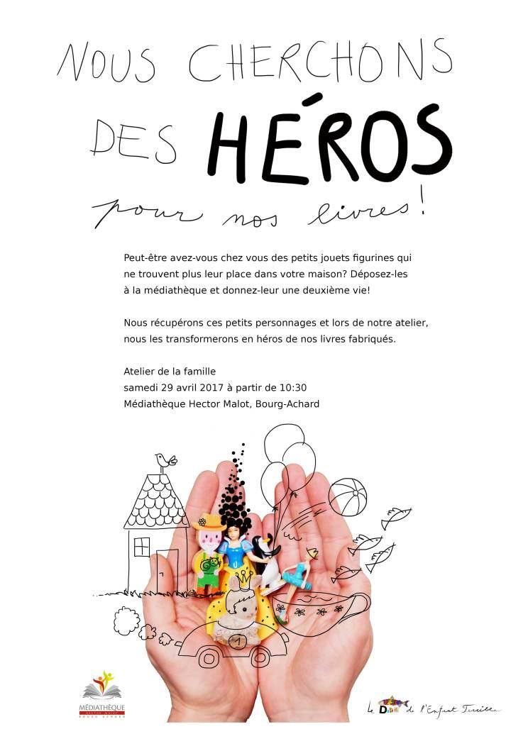 Nous cherchons des héros affiche complète