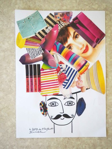 Atelier DADA collage
