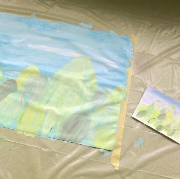2 projet peinture crèche grand format