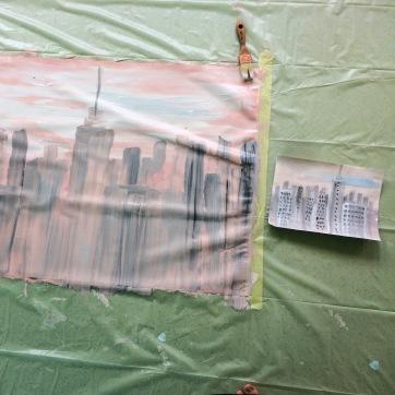 3 crèche peinture voyage