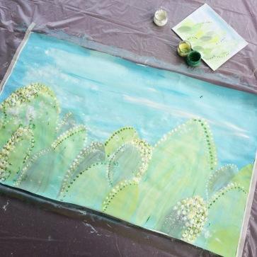 7 fresque paysage crèche