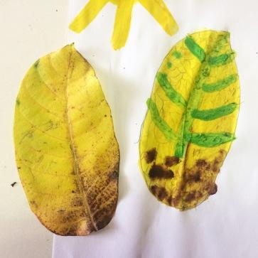 3 Dessin feuille automne