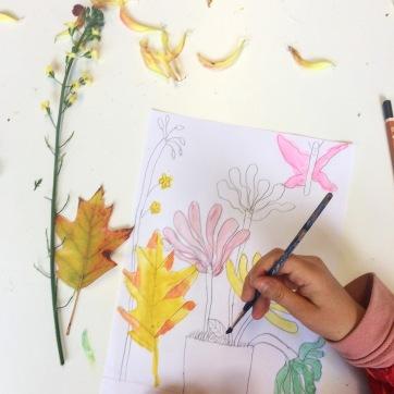6 Atelier d'automne dessin DADA