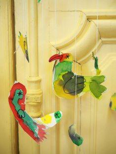 DADA Stages de vacances - oiseaux en papier