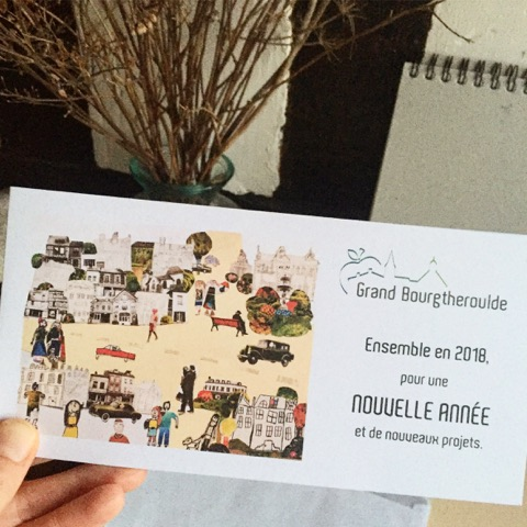 Carte de voeux Grand Bourgtheroulde