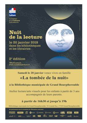 Nuit de la lecture Grand Bourgtheroulde