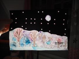 """Module d'animation """"Nuit étoilée""""autour de l'album """"Bonne nuit tout le monde"""" de Chris Haughton"""