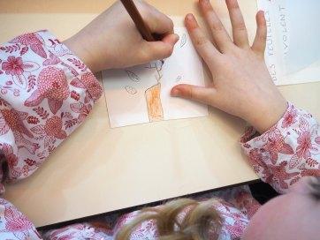 """Atelier parents-enfants à la médiathèque de Bourg Achard: """"La légèreté"""""""