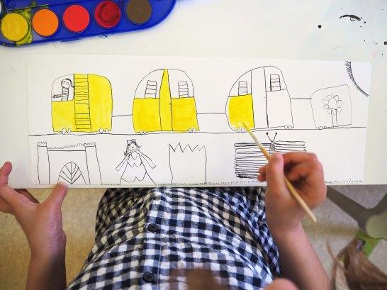 "DADA atelier autour de l'album ""Ligne 135"" de Germano Zullo, illustré par Albertine"