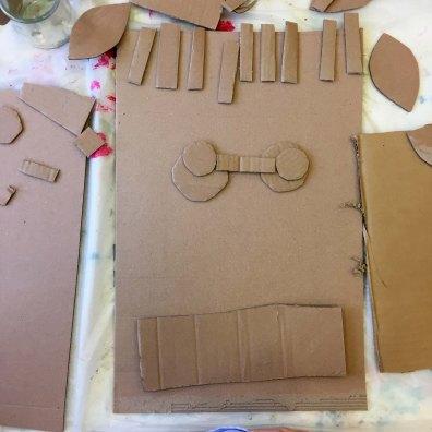 DADA atelier - masques en carton