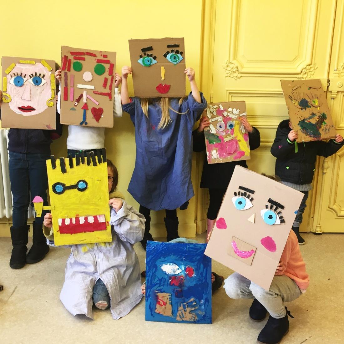 DADA Atelier masques en carton
