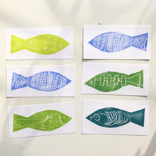 Impression de poissons!