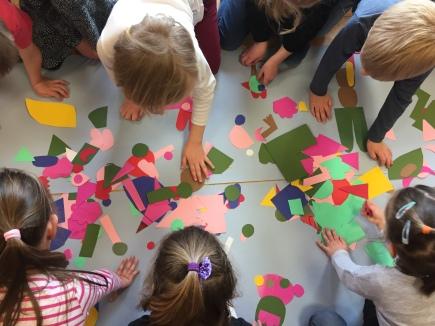 Ecole maternelle: animaux - formes et couleurs