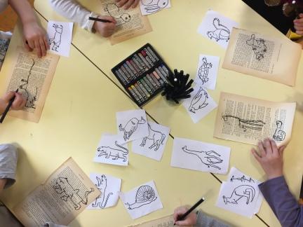 Animaux du monde - projet d'école