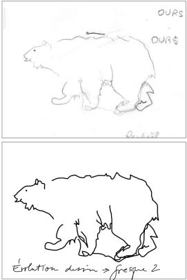 Dessin ours polaire école maternelle